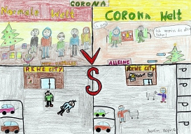 Corona Comic Angelina.jpg©Oberschule Nienburg