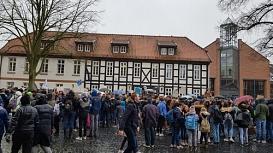 Demo_Rathaus©Oberschule Nienburg