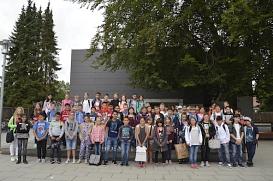 Gruppenbild Einschulung©Oberschule Nienburg (OBS-Z)