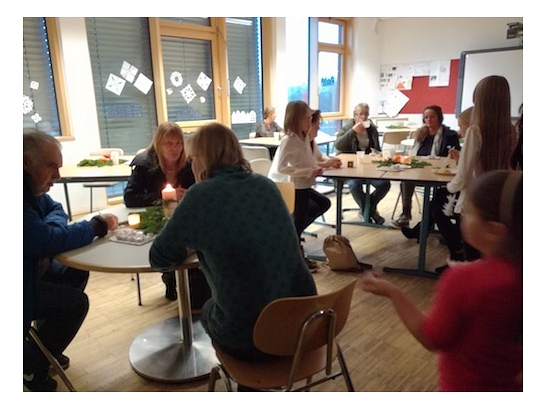 Kaffee in der 5b©Oberschule Nienburg (OBS-Z)