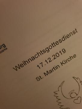 weihnachtsgottesdienst1.jpg©Oberschule Nienburg